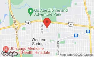 Map of 4016 Howard Avenue WESTERN SPRINGS, IL 60558