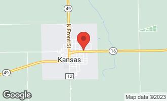 Map of 402 East Jefferson Street KANSAS, IL 61933