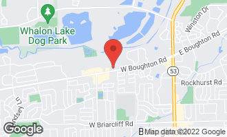 Map of 402 West Boughton Road BOLINGBROOK, IL 60440
