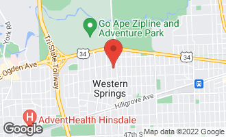 Map of 4023 Lawn Avenue WESTERN SPRINGS, IL 60558
