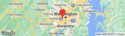 Map of 4024 20TH STREET N ARLINGTON, VA 22207