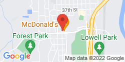 Google Map of 4027 Hoyt Avenue+Everett+WA+98201