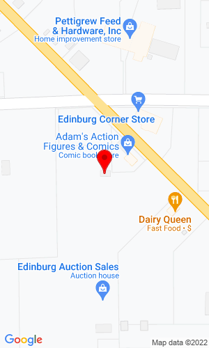 Google Map of Edinburg Auction Sales, Inc. 4029 State Route 14, Rootstown, OH, 44272
