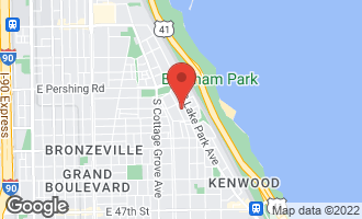 Map of 4029 South Ellis Avenue 2S CHICAGO, IL 60653