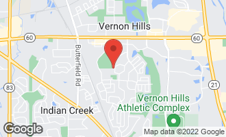 Map of 403 Appleton Drive VERNON HILLS, IL 60061