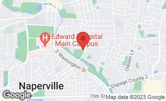 Map of 403 East Gartner Road NAPERVILLE, IL 60540