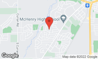 Map of 403 North Thornwood Drive #403 MCHENRY, IL 60050