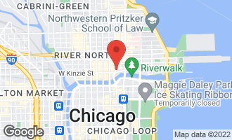 Map of 403 North Wabash Avenue PHA Chicago, IL 60611