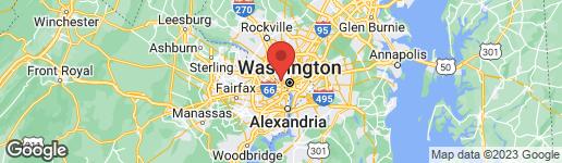 Map of 4032 CHANCERY COURT NW WASHINGTON, DC 20007
