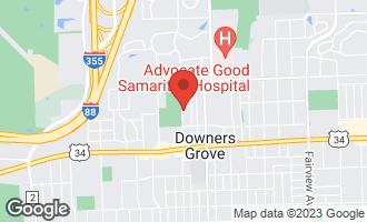 Map of 4039 Saratoga Avenue C105 DOWNERS GROVE, IL 60515
