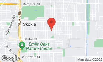 Map of 4041 Cleveland Street SKOKIE, IL 60076