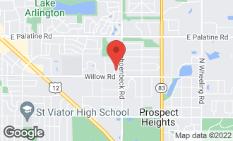 Map of 405 Etowah Avenue PROSPECT HEIGHTS, IL 60070