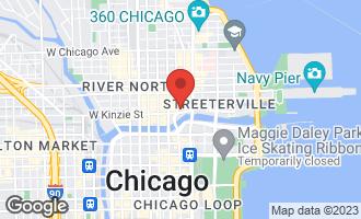 Map of 405 North Wabash Avenue #3508 CHICAGO, IL 60611
