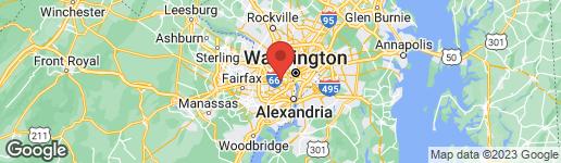 Map of 405 UPTON COURT N ARLINGTON, VA 22203