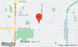 Map of 4057 Suffield Court SKOKIE, IL 60076