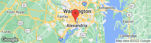 Map of 406 ALEXANDRIA AVENUE W ALEXANDRIA, VA 22302