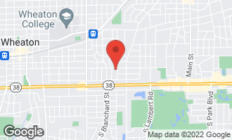 Map of 406 South Prospect Street WHEATON, IL 60187