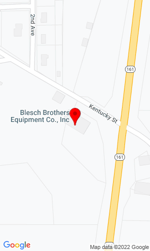 Google Map of Blesch Brothers, Inc. 407 E Kentucky Ave, Holland, IN, 47541