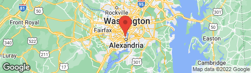 Map of 407 HUME AVENUE ALEXANDRIA, VA 22301