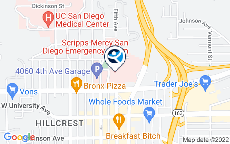 Scripps Mercy Hospital Location and Directions