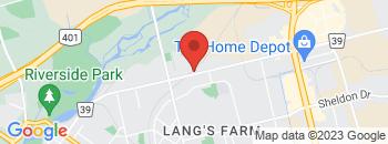 Google Map of 408+Witmer+Street%2CCambridge%2COntario+N3H+0A3