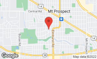 Map of 409 South Hi Lusi Avenue MOUNT PROSPECT, IL 60056