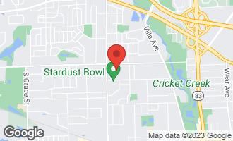 Map of 409 Wenbriar Square ADDISON, IL 60101
