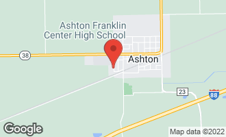 Map of 409 Western Avenue ASHTON, IL 61006