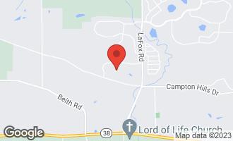 Map of 40W842 Campton Meadows Drive ELBURN, IL 60119