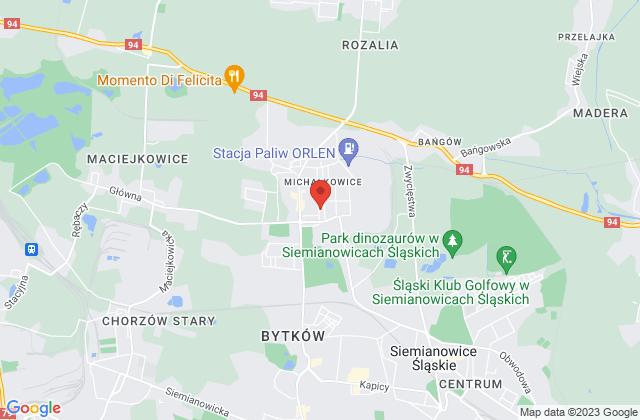 Wyświetl Michał Janos,Autozastepcze.pl Michał Janos na mapie