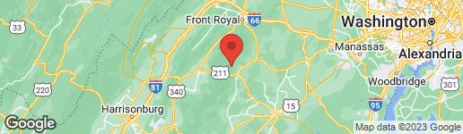 Map of 41 SYCAMORE RIDGE ROAD SPERRYVILLE, VA 22740