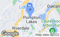 Map of Pompton Lakes, NJ