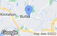Map of Butler, NJ