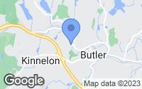 Map of Butler, NJ