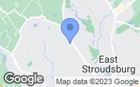 Map of Stroudsburg, PA