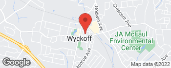 Map of 239 Madison Ave in Wyckoff