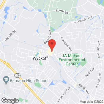Map of Optimum WiFi Hotspot at 319 Franklin Ave, Wyckoff, NJ 07481
