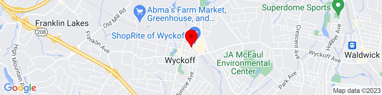 Google Map of 41.0122695, -74.16967489999999