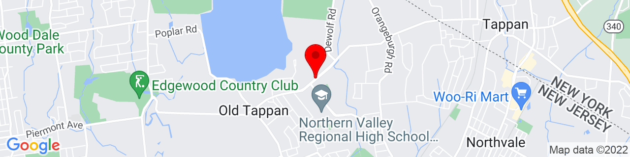 Google Map of 41.0148945, -73.9804913