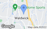 Map of Waldwick, NJ
