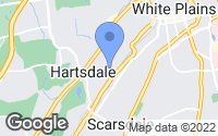 Map of Hartsdale, NY