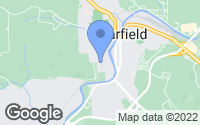 Map of Clearfield, PA