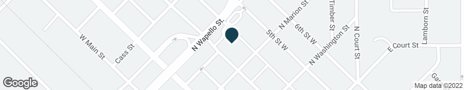 Google Map of327 W 4TH ST