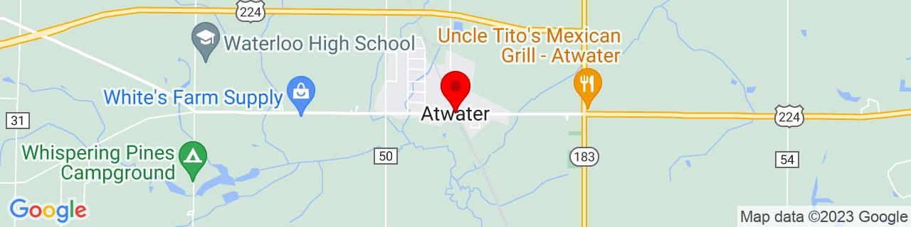 Google Map of 41.0238009, -81.1635821