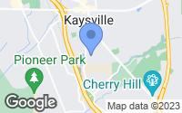 Map of Kaysville, UT