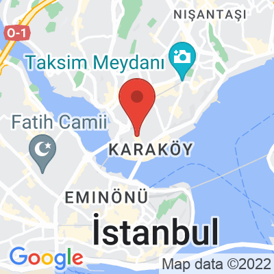 Map showing Federal (Galata)