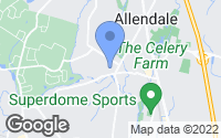 Map of Allendale, NJ