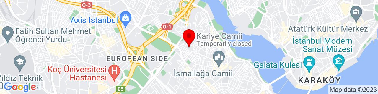 Google Map of 41.031205, 28.939188299999955