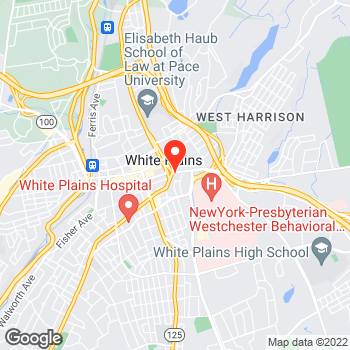 Map of Ann Taylor - Temporarily Closed at 125 Westchester Ave, White Plains, NY 10601