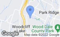 Map of Woodcliff Lake, NJ